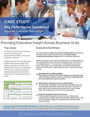 Case Study_Executive Dashboard