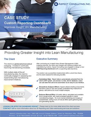 Case Study_VSM Dashboard 3